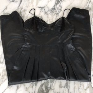 French Connection Belted Black Jumpsuit